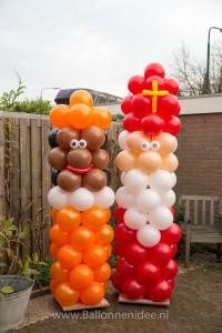 Sint en Piet zuilen