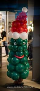 Kerstboom met muts (200cm)