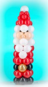 (20) Mini kerstman zuil