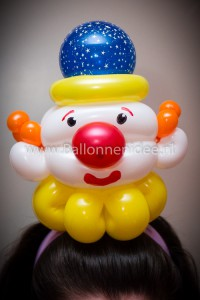 Clown haarband