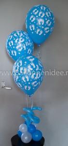 Centerpiece: Geboorte jongen (helium)