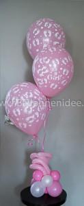 Centerpiece: Geboorte meisje (helium)